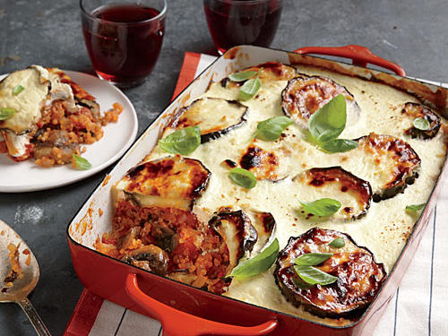 Cheesy Vegetable Moussaka