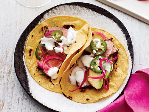 Roasted Pork Tenderloin Tacos