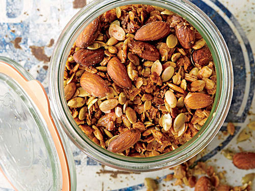 Make Ahead Recipe #1: Orange, Pumpkin Seed, and Smoked Almond Granola