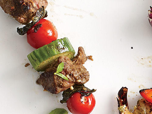 Colorado Recipe: Lamb, Tomato, and Mint Kebabs