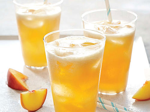 Georgia Recipe: Bourbon-Peach Limeade