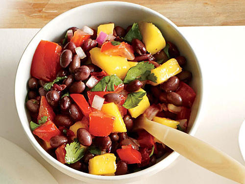 Smoky Black Bean and Mango Salsa
