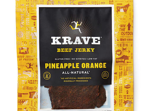 Krave Pineapple Orange Beef Jerky