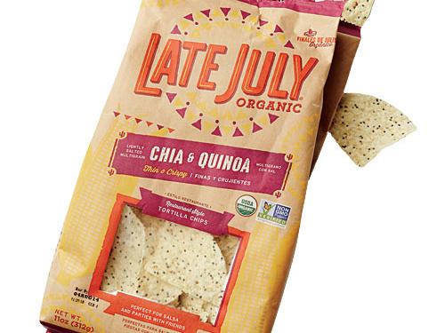 Late July Organic Restaurant-Style Chia and Quinoa Tortilla Chips