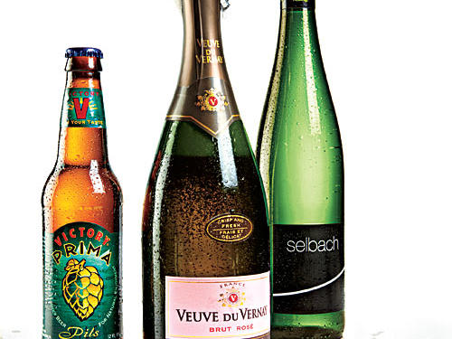 Crisp and Floral Wine and Beer Pairings for Pasta Primavera