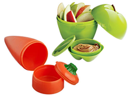 Snack Attack Dip-to-Go Containers