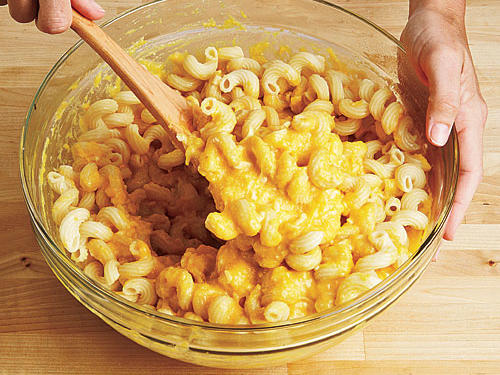 Light Macaroni and Cheese Step Four