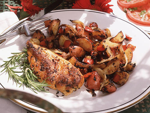 1993: Roasted Chicken and Vegetables