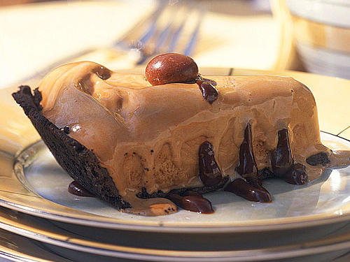 Frozen Coffee-Fudge Pie