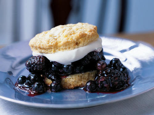 1210 Blueberry-Blackberry Shortcakes