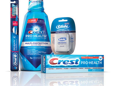 Regular Oral Care to Crest Pro-Health