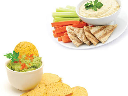 Chips 'N' Dip to Vegetables 'N' Hummus
