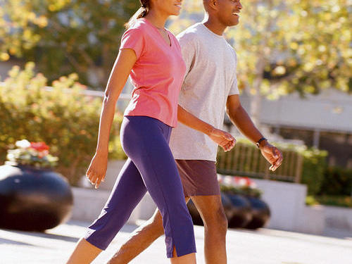 Low-intensity exercise: Walking
