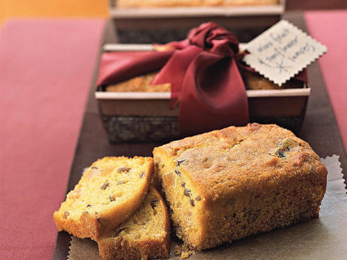 Mini Fruit and Sunflower Loaves