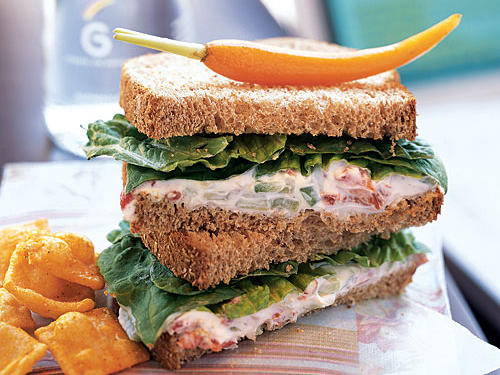 Roasted Red Pepper Spread Sandwiches Recipes