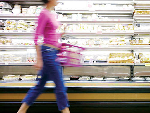 New Food Products at Grocery Store