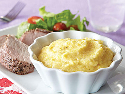 Creamy Two-Cheese Polenta