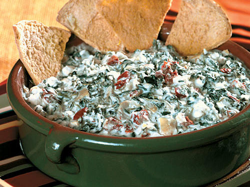 Cheesy Spinach-Artichoke Dip