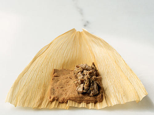 Make Tamales: Shape Basic Masa Dough