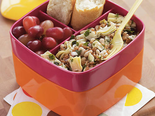 Spelt Salad with White Beans and Artichokes Recipes