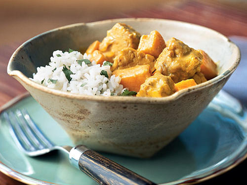 Tempeh Coconut Curry Vegetarian Recipe