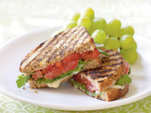 1304 Grilled Tomato and Brie Sandwiches