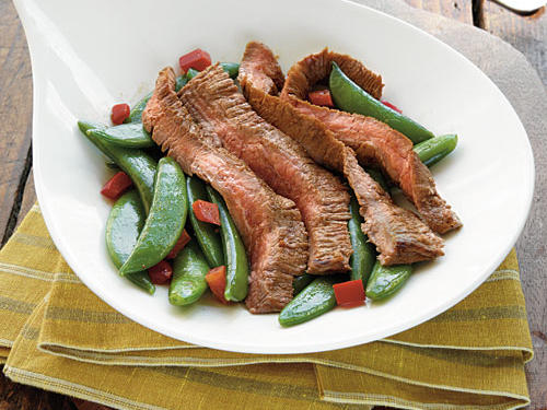 Spicy Asian-Marinated Flank Steak