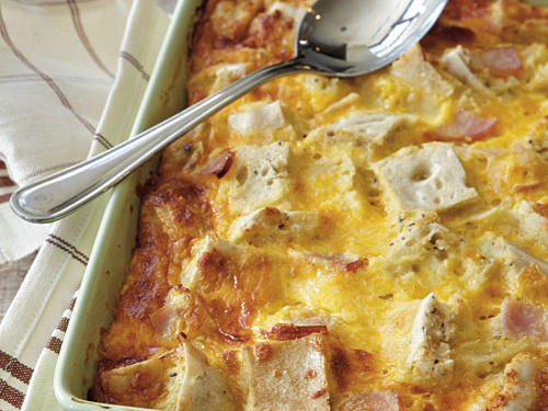 Gluten-Free Ham and Cheese Strata