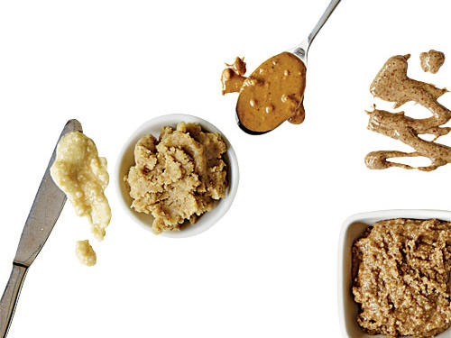 You skip peanut butter because it's high in calories and fat