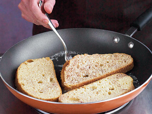 Step Four: Place Bread in Pan