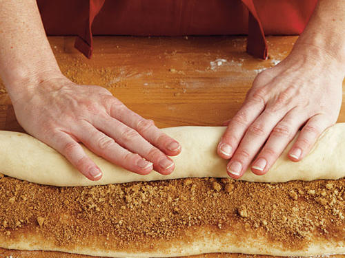 Step Five: Roll Up Dough