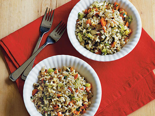 Herbed Brown Rice Pilaf