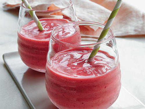 Hot-Pink Smoothies