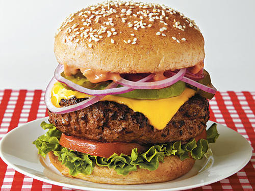 Out-n-In California Burger