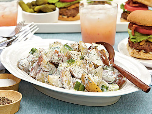 Sour Cream-Dill Potato Salad