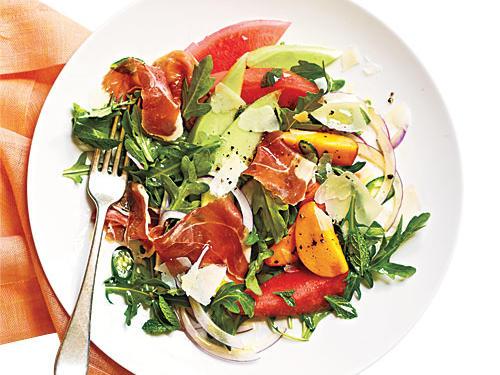 Melon Salad with Prosciutto recipe