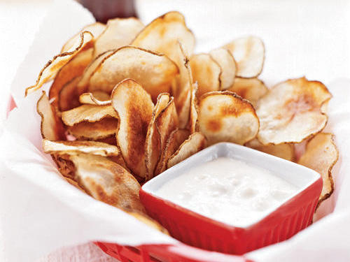 We're not kidding when we say these baked chips capture all the flavor of the fried kind with much less fat.