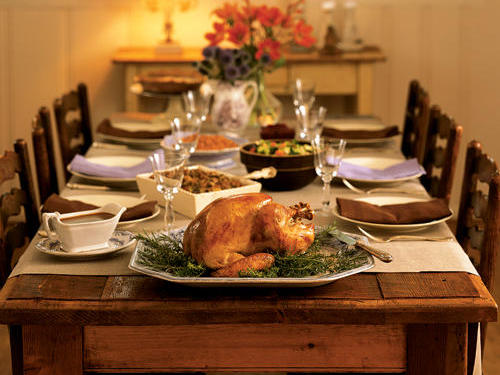 Thanksgiving for the Novice