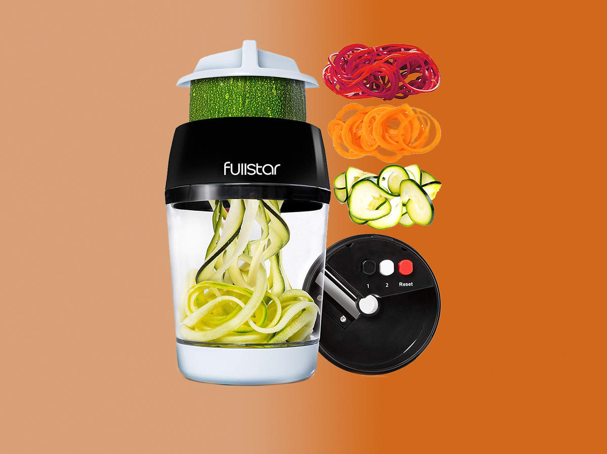 Amazon's Best-Selling Vegetable Spiralizer Takes Up Almost Zero Space in the Kitchen