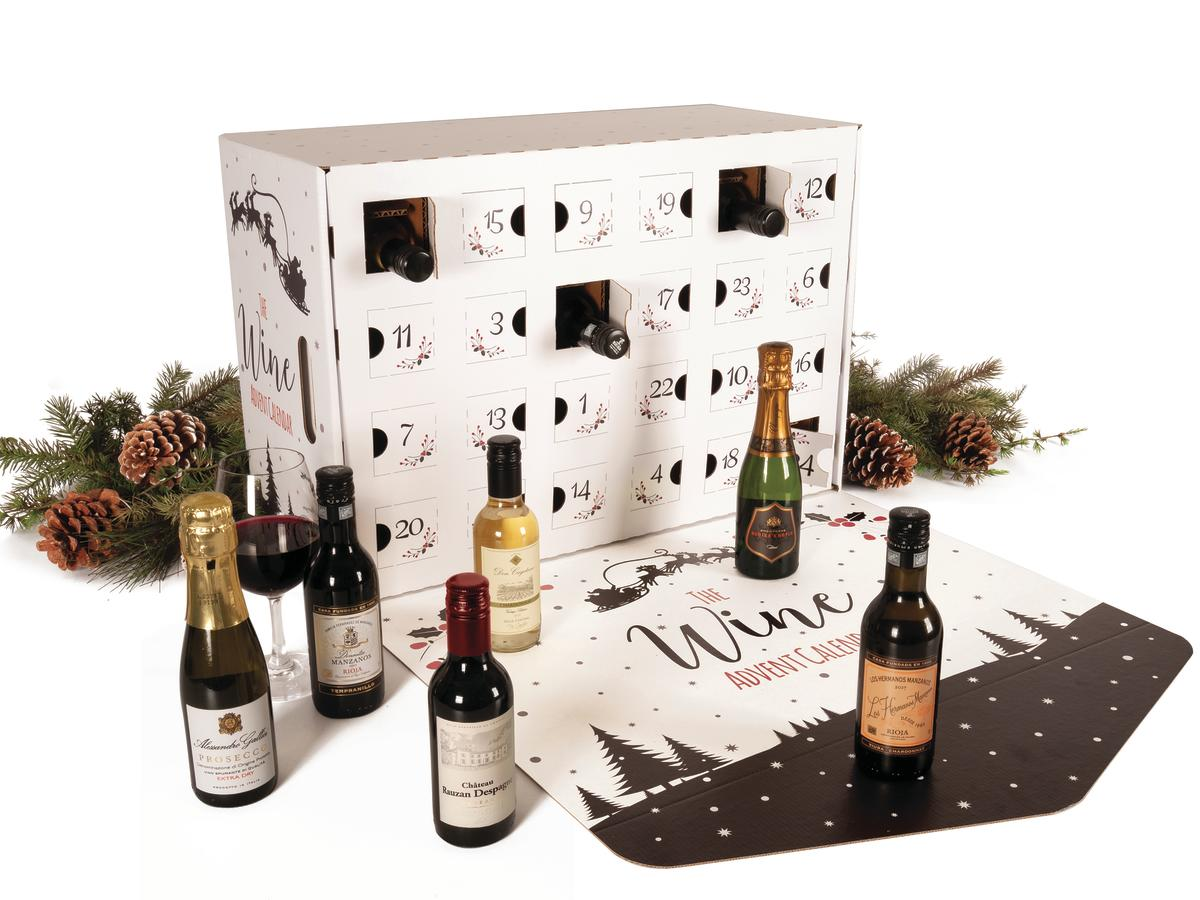 This Boozy Advent Calendar Will Put You in the Holiday Spirit
