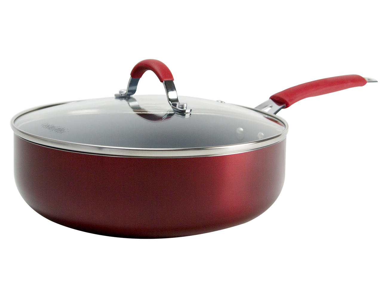 Cooking Light  4 Quart Ceramic Nonstick Deep Cooker