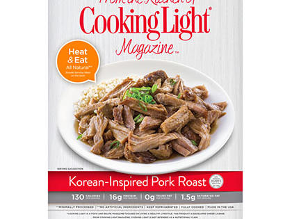 Korean Inspired Pork- Prepared