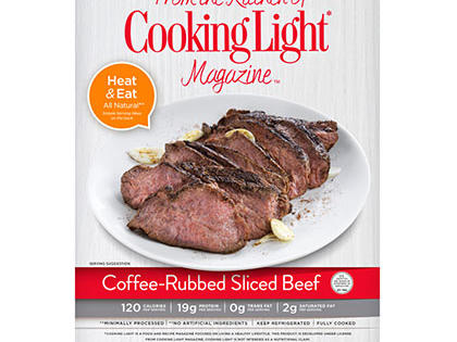 Coffee Rubbed Beef- Prepared