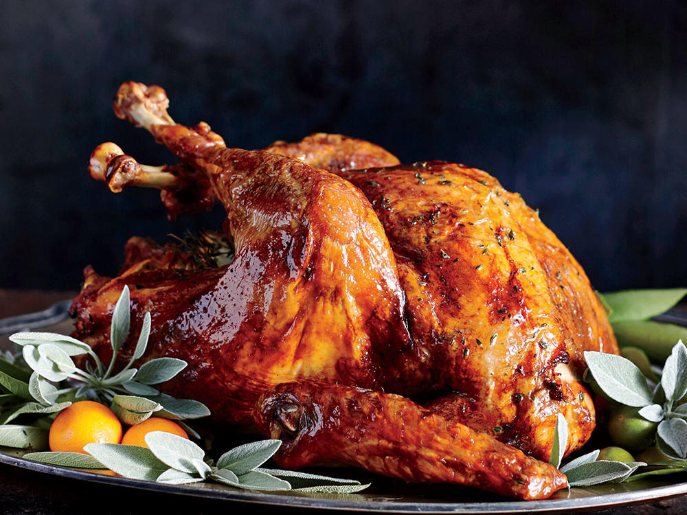 Now that you've mastered the steps for cooking the turkey, pick out a recipe for the big meal. Our Roast Turkey Recipes are the classic Thanksgiving centerpieces you've treasured your whole life. You'll find traditional recipes, as well as a few adventurous turkey brines and rubs. If you're looking to try a new cooking technique, our guide to spatchcocking a whole turkey will help you turn out the best roast turkey you've ever had. Once your recipe is decided, learn how to slice up the turkey for your big presentation. Watch our How to Carve a Turkey tutorial for simple tips and techniques for the perfectly carved turkey every time.