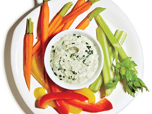 Four-Herb Green Goddess Dressing