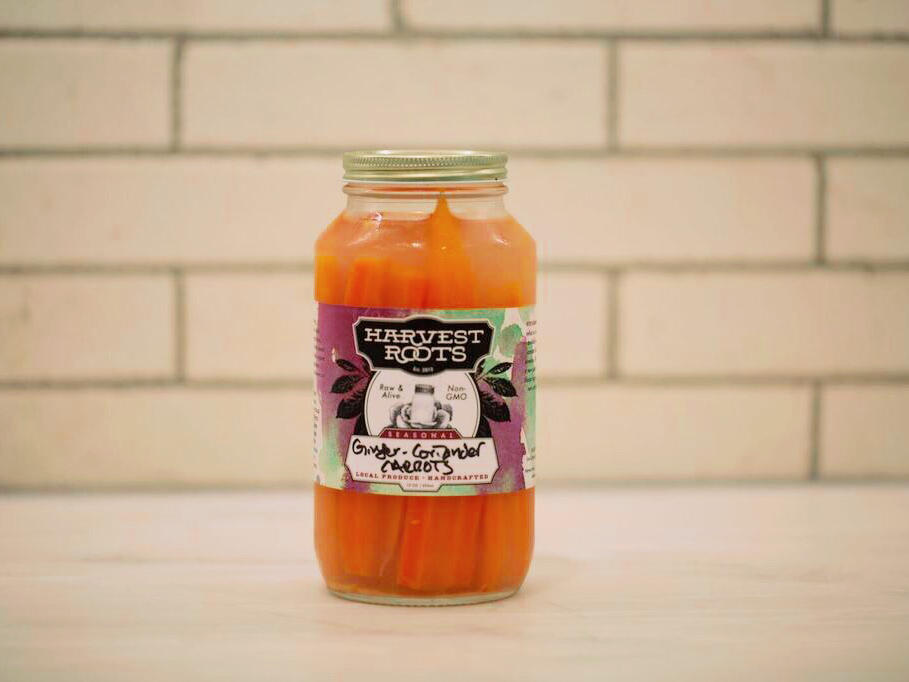 1707w- Ginger and Coriander Carrot Pickles