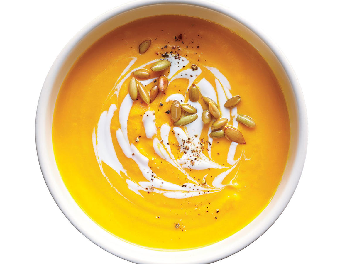 Creamy Carrot and Lemongrass Soup