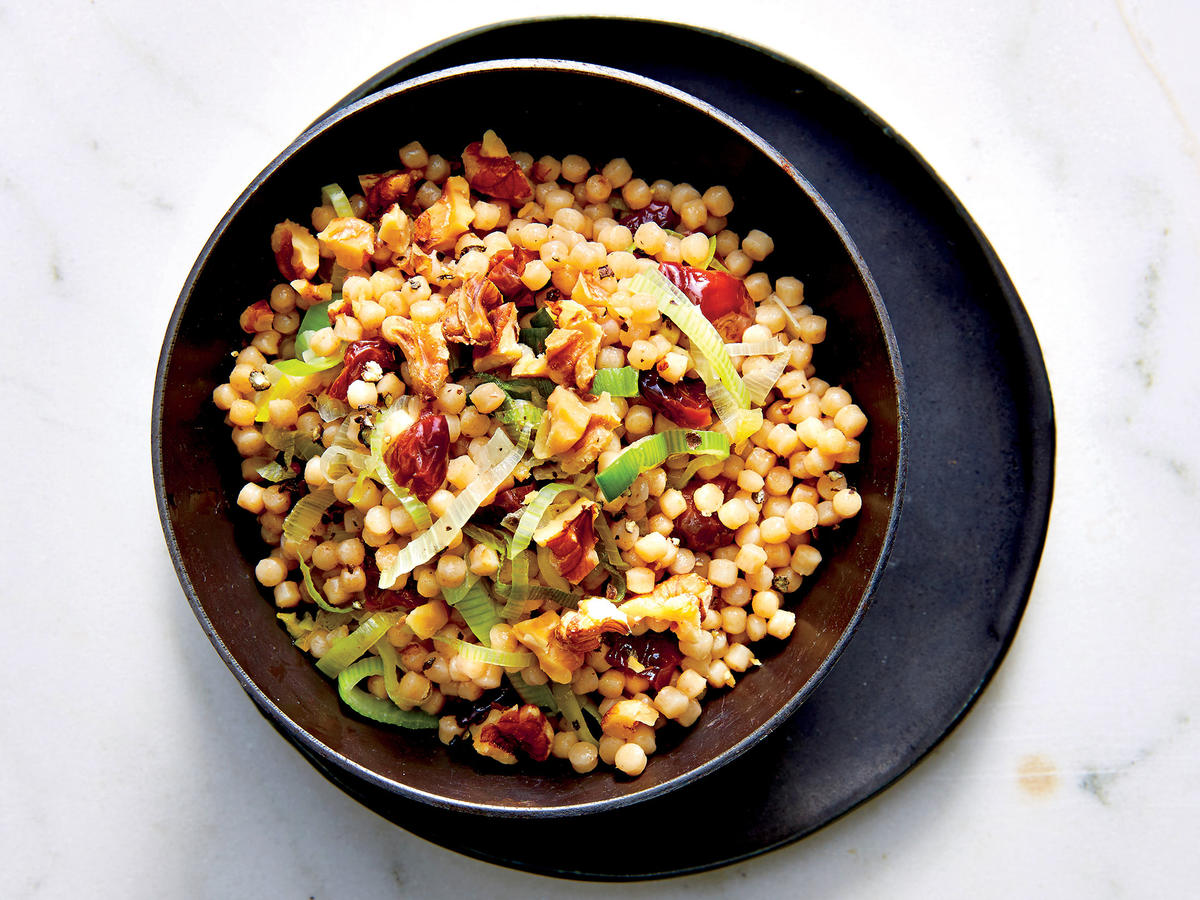 Cherry-and-Leek Couscous