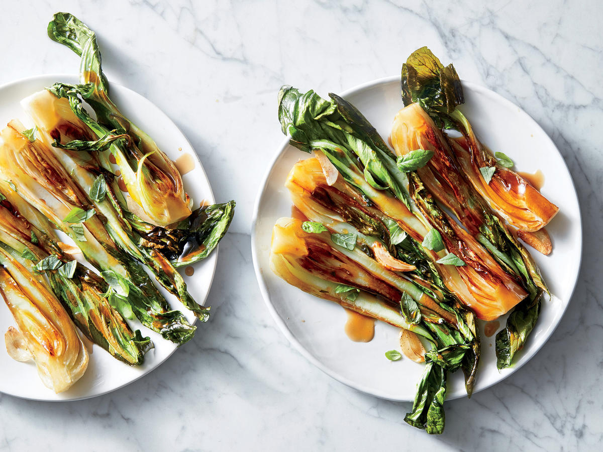 Sweet-and-Sour Bok Choy