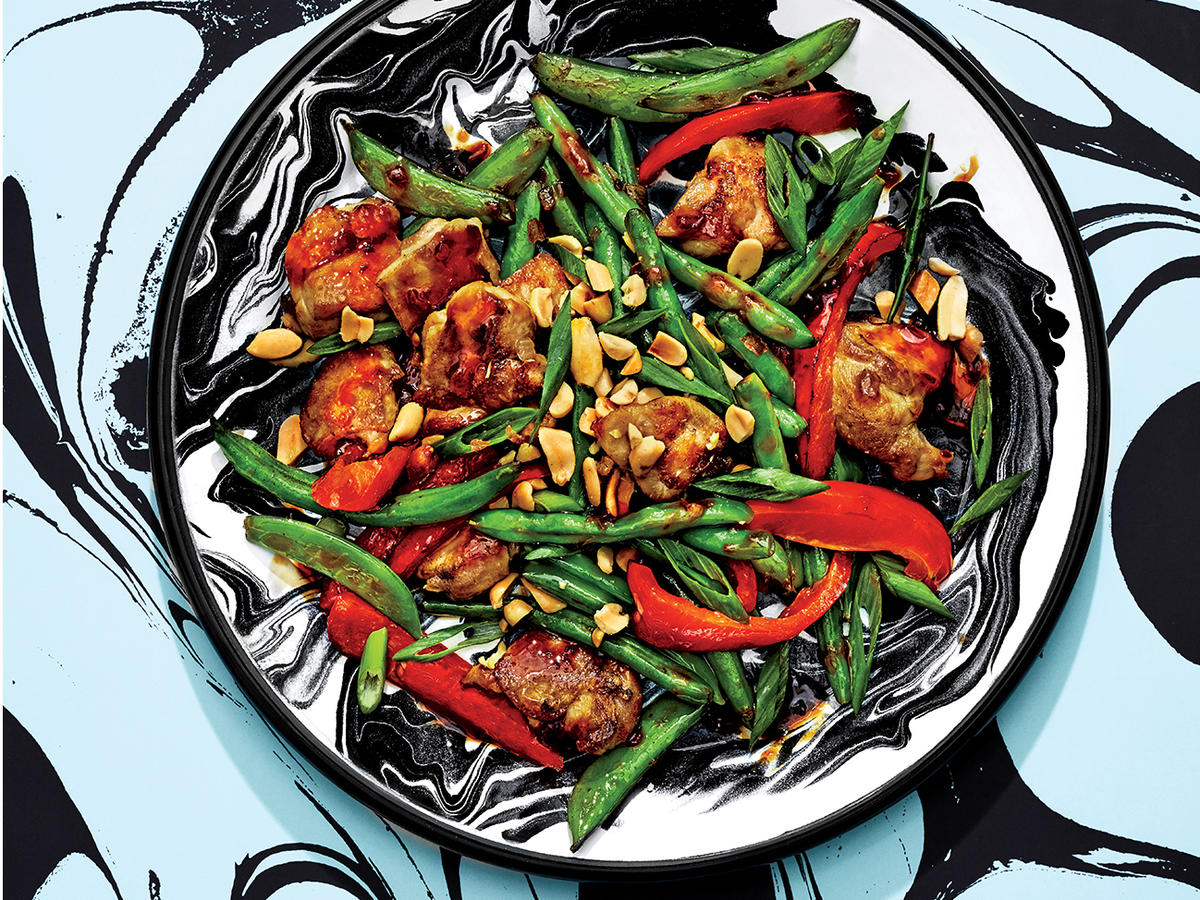A Garlic Soy Chicken Stir Fry That Takes 20 Minutes Recipe Cooking Light